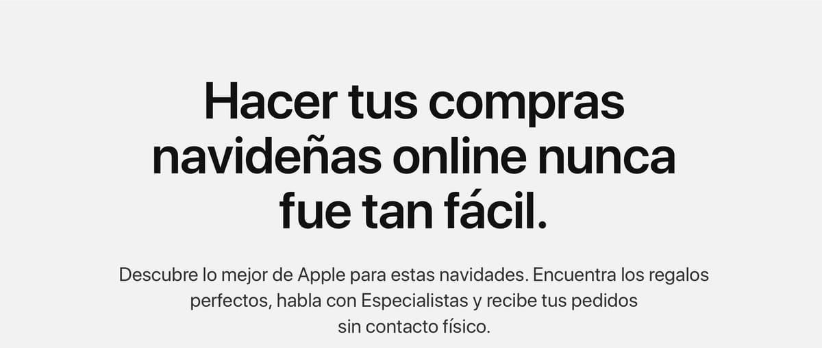 Ya es Navidad en Apple