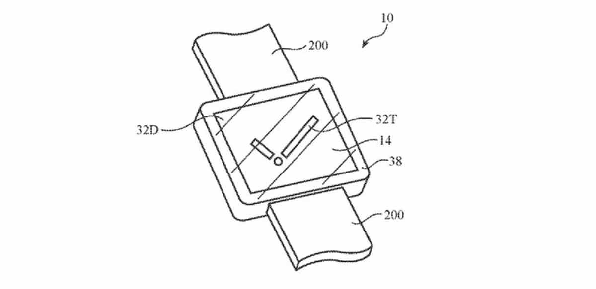 Patente de camara en Apple Watch