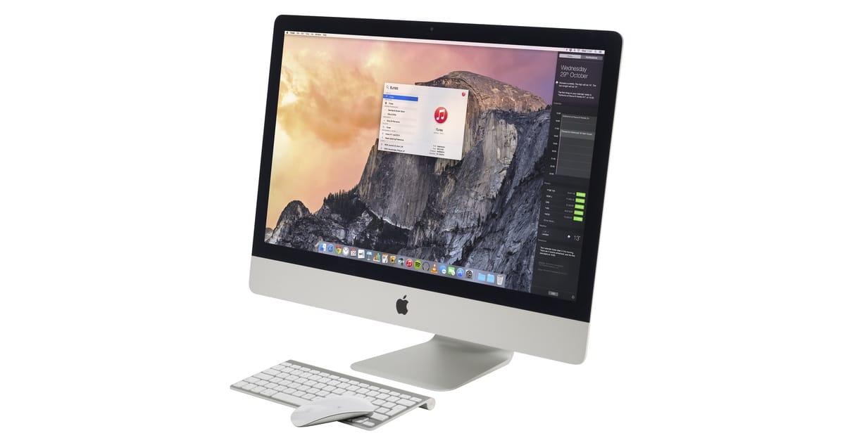 Los iMac con 5k declarados Vintage