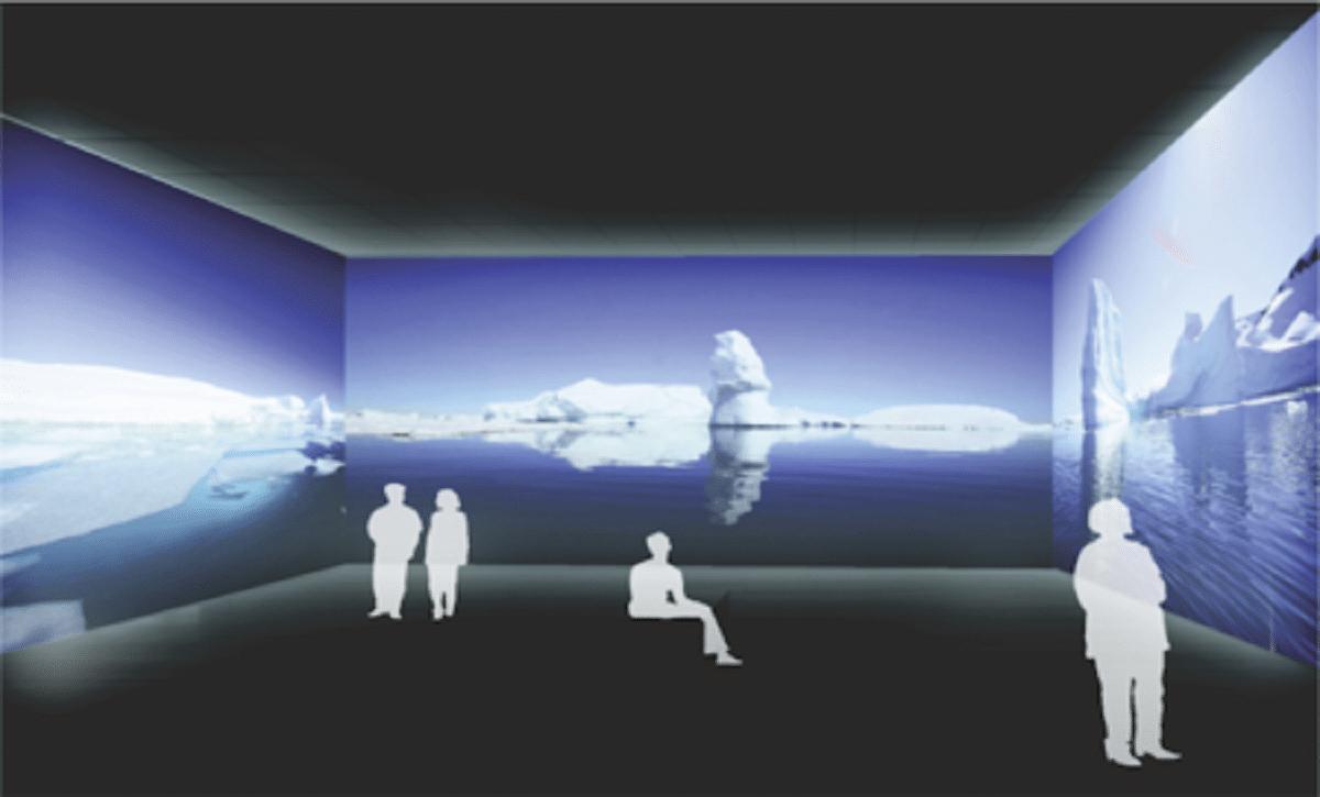imagen proyectada laser Mac