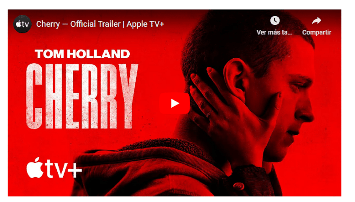 Primer tráiler oficial de Cherry que se estrenará en marzo en Apple TV+