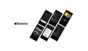 Concepto del mando para el Apple TV