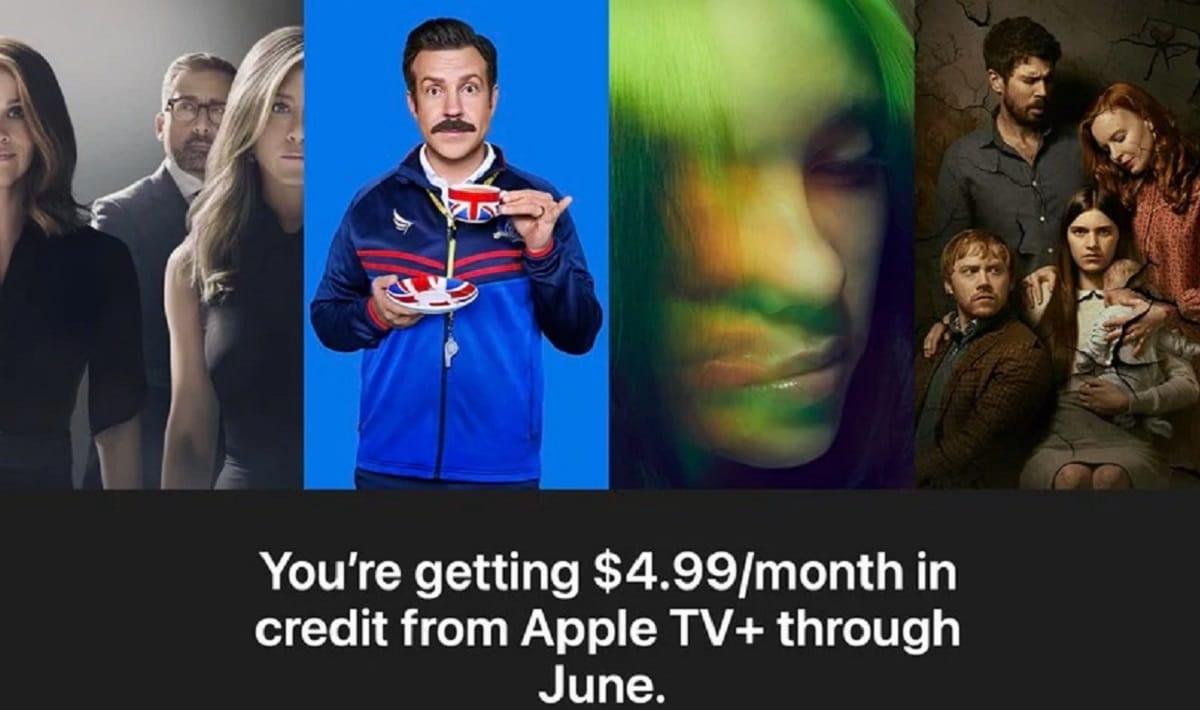 Apple devuelve de nuevo créditos a los suscriptores de Apple TV+