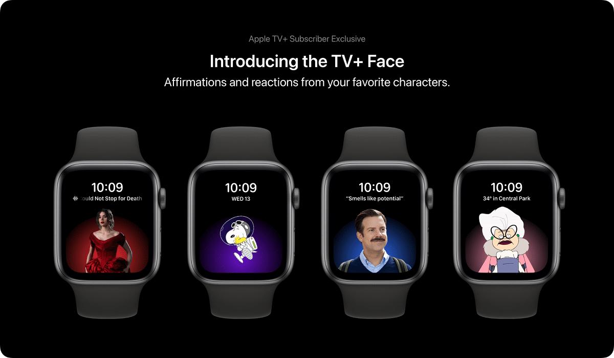 Nuevas esferas para el concepto de watchOS 8