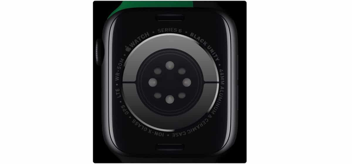 Apple Watch Series seis Black Unity Collection