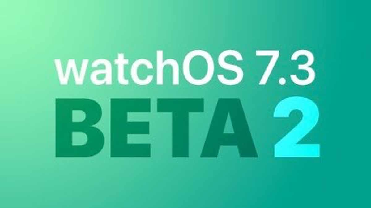 segunda beta watchOS 7.3