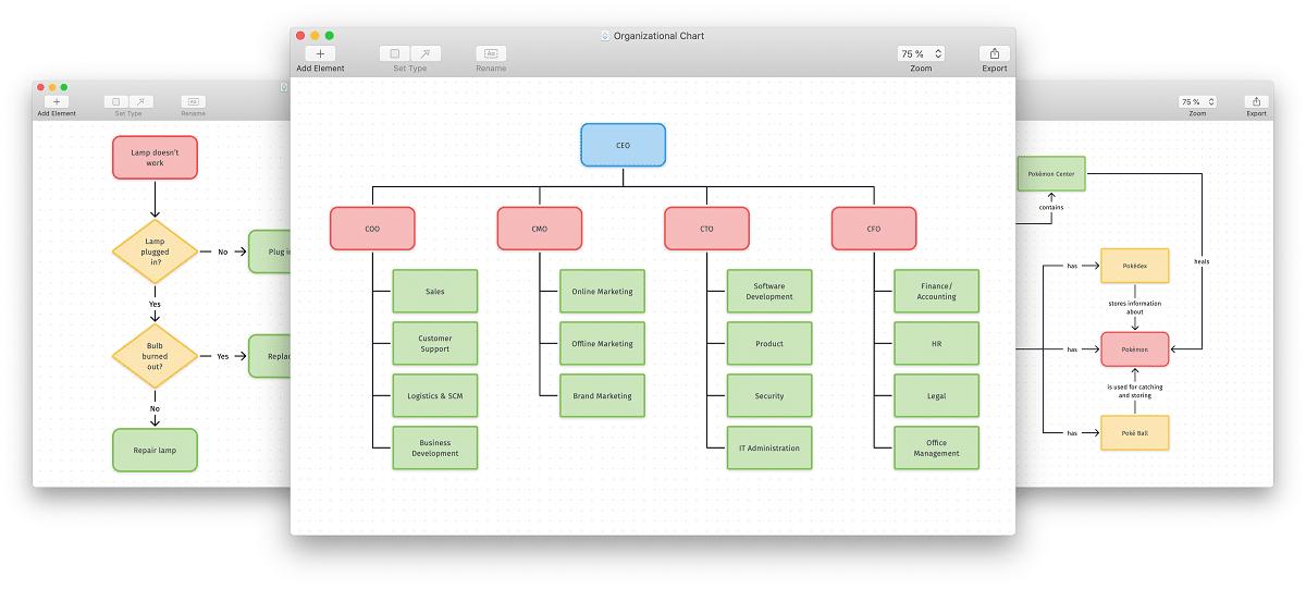 Diagrams para Mac se actualiza en su versión 2.0