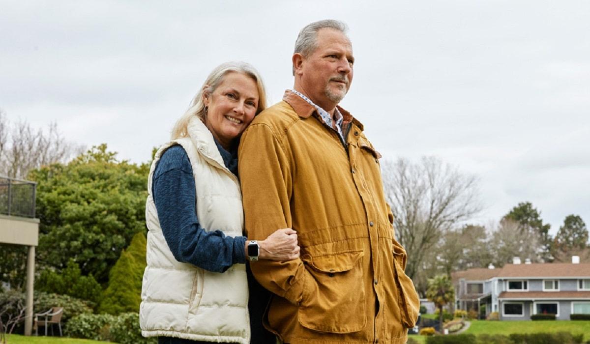 Lori y Bob quien salvo su vida gracias al Apple Watch