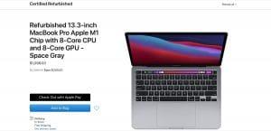 MacBook M1 Restaurado Apple