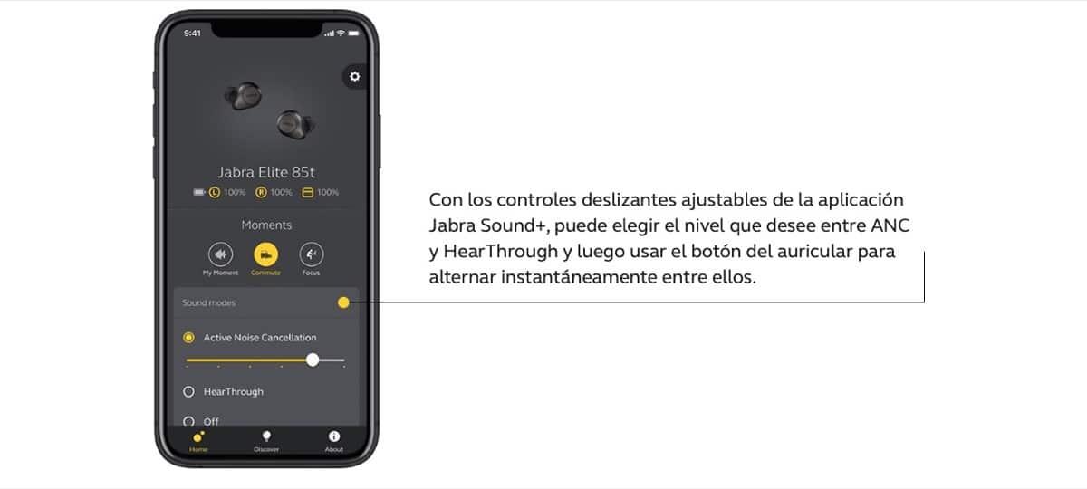 App Jabra Elite 85t