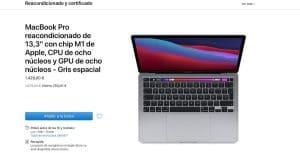 MacBook Pro M1 reacondicionado