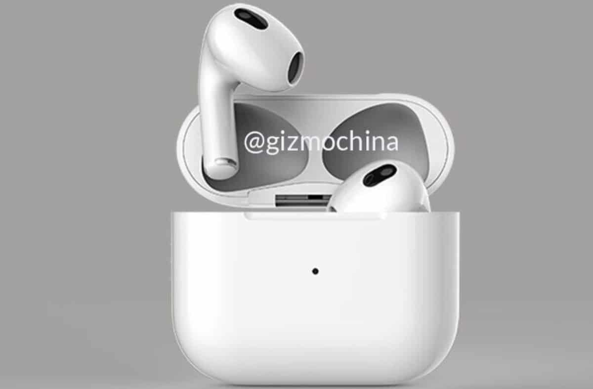 Render AirPods 3