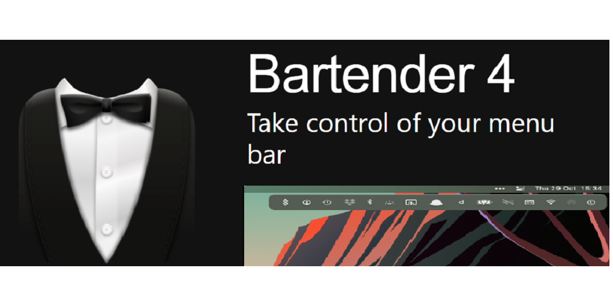 Bartender 4 se actualiza y es compatible con M1