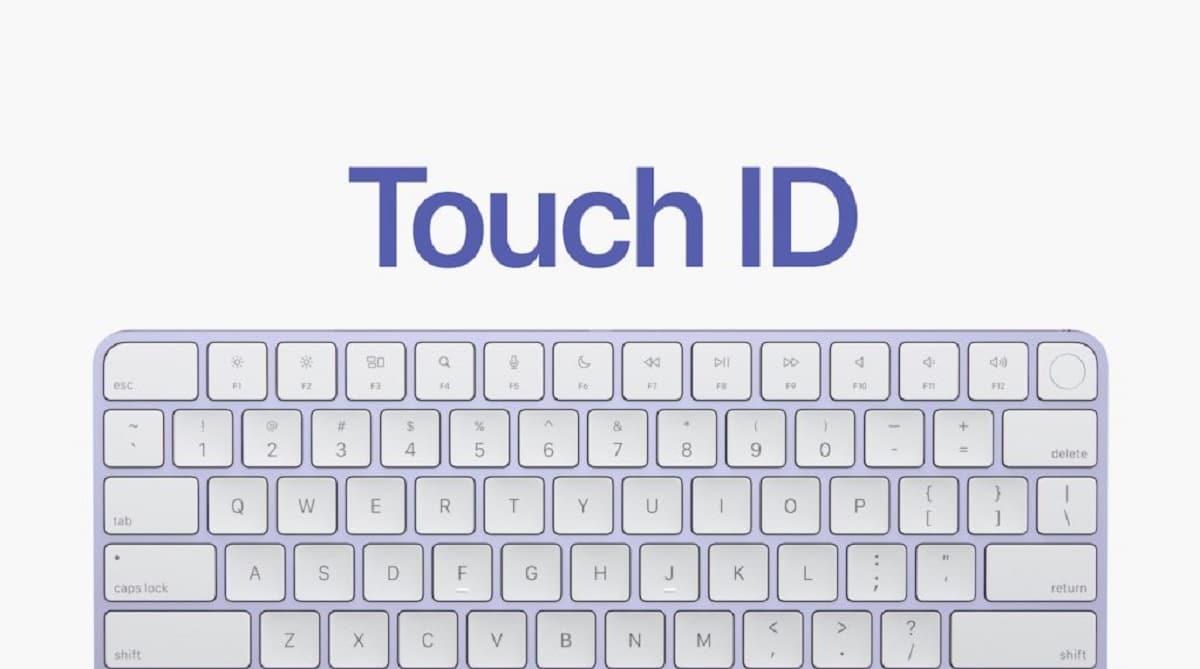 Magic Keyboard con Touch ID