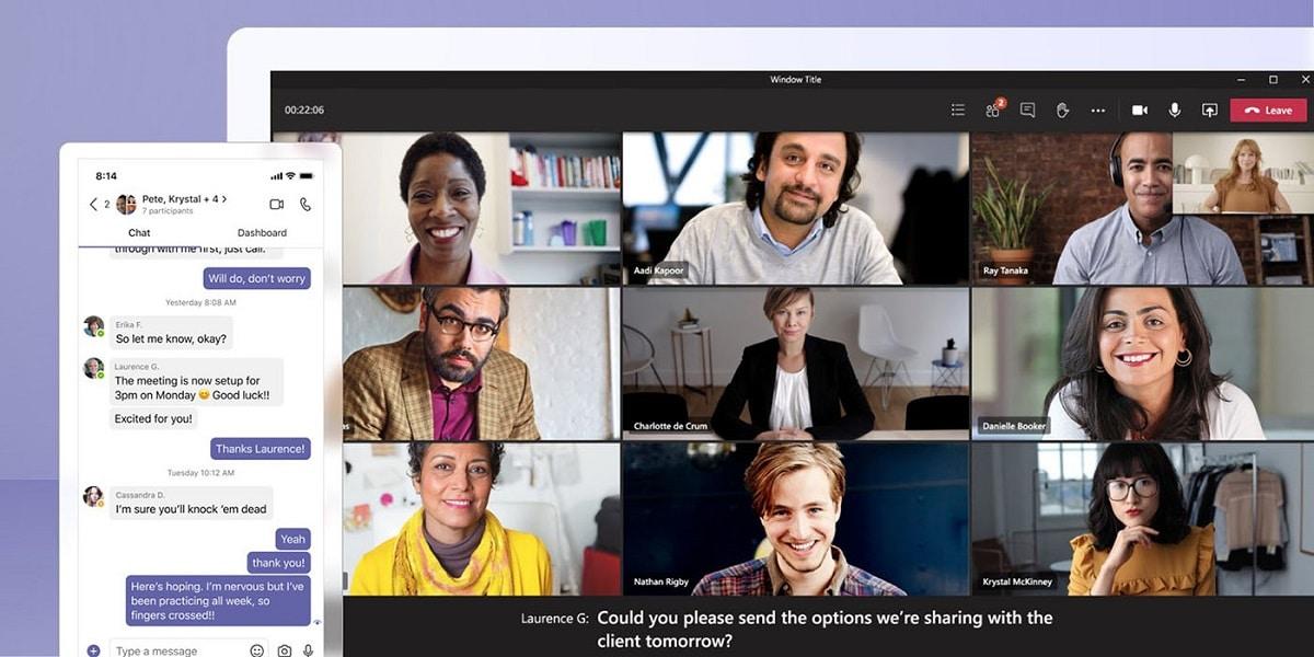 Nueva actualizacion de Microsoft Teams