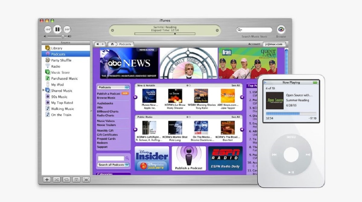 Podcasts de Apple