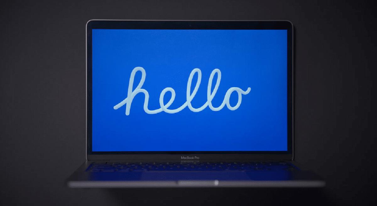 Pon el rescata pantallas del Mac™ M1 en el tuyo
