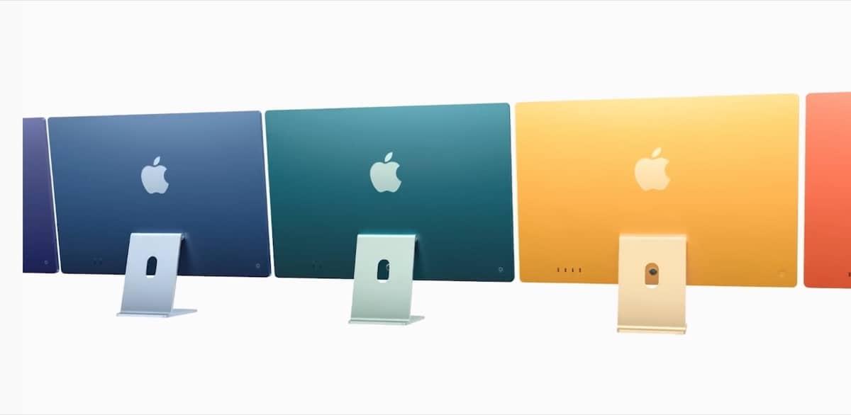 Nuevos iMac 2021