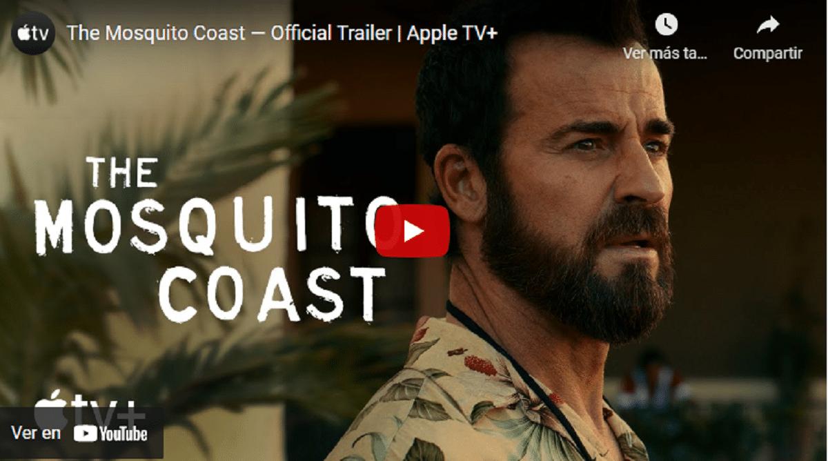 Primer tráiler de la serie la costa de los mosquitos en Apple Tv+