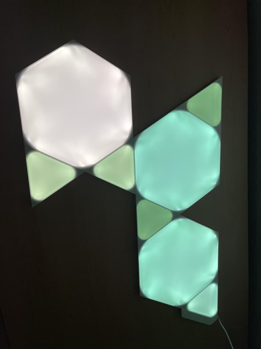 Luz Nanoleaf Shapes Hexágonos