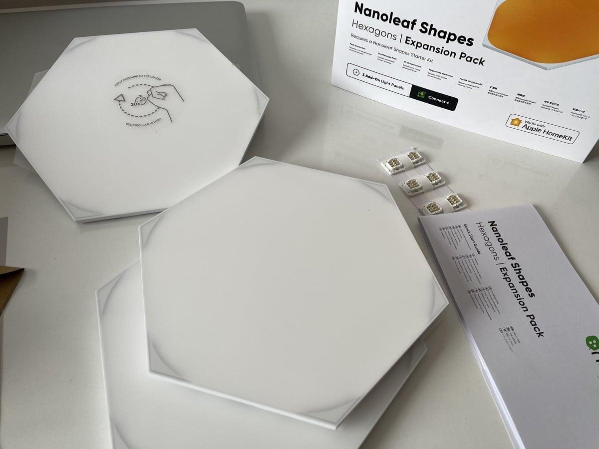 Paneles Nanoleaf Shapes Hexágonos