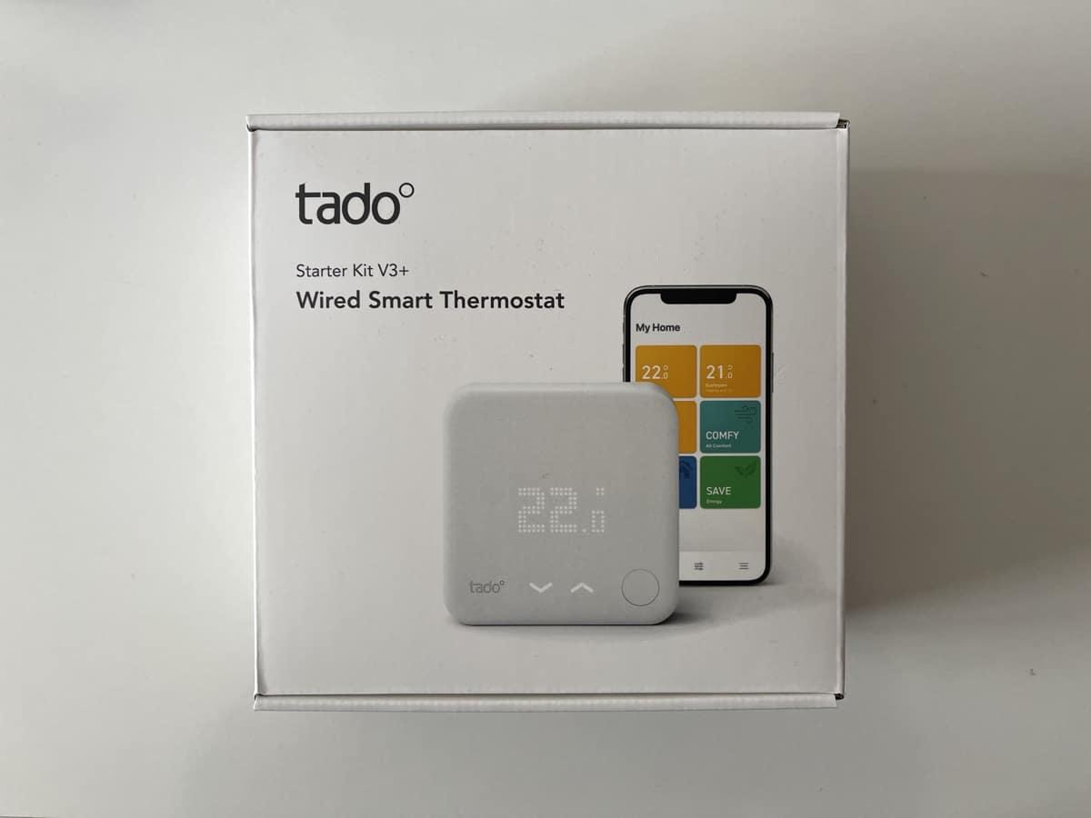 Probamos el kit de inicio del termostato inteligente tadoº V3+