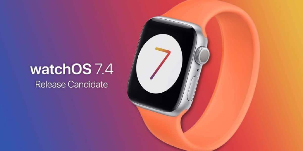 watchOS 7.4 release Candidate
