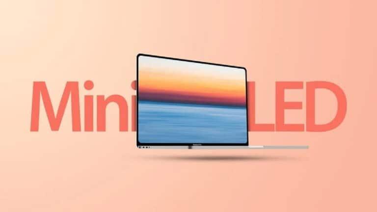 mini-LED en los MacBook Pro