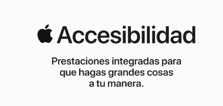 Accesibilidad de Apple