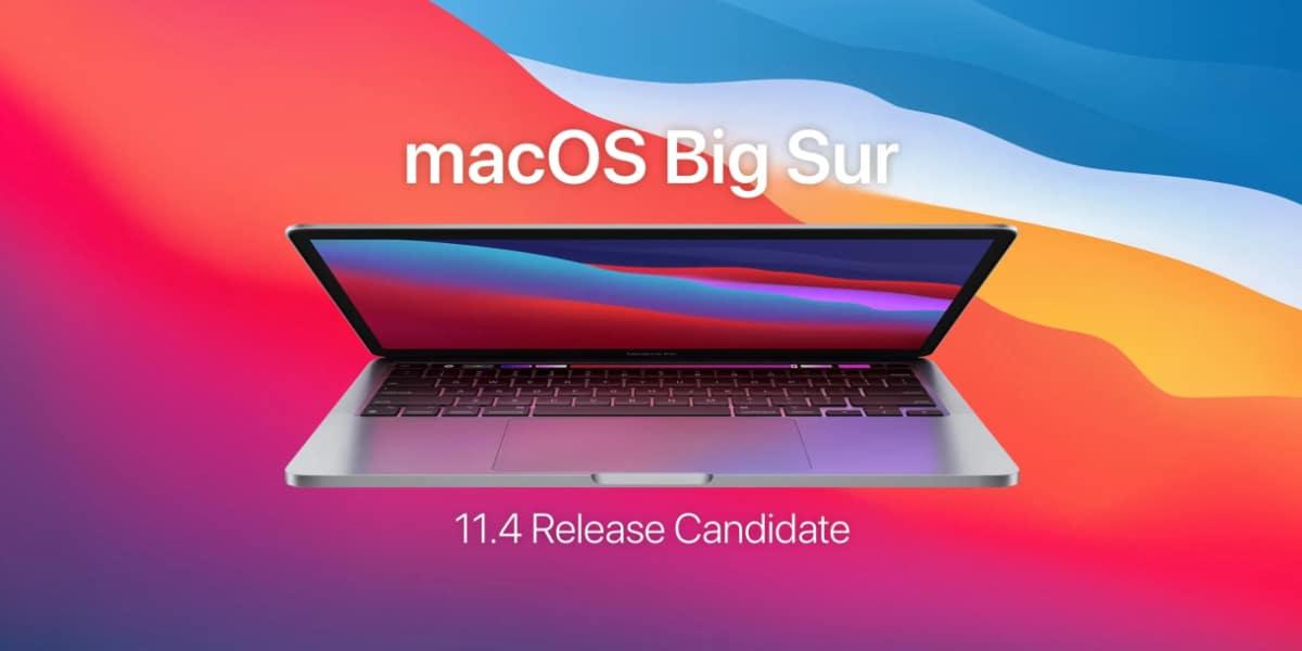 Big Sur 11.4 RC