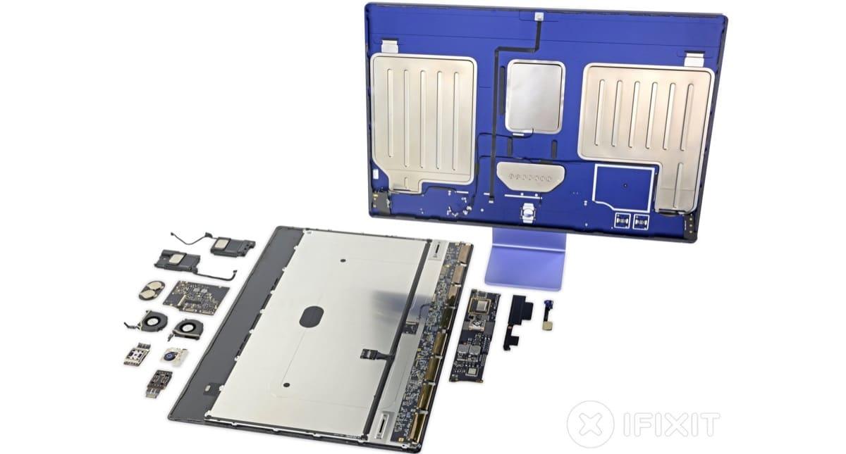 iMac 24 iFixit