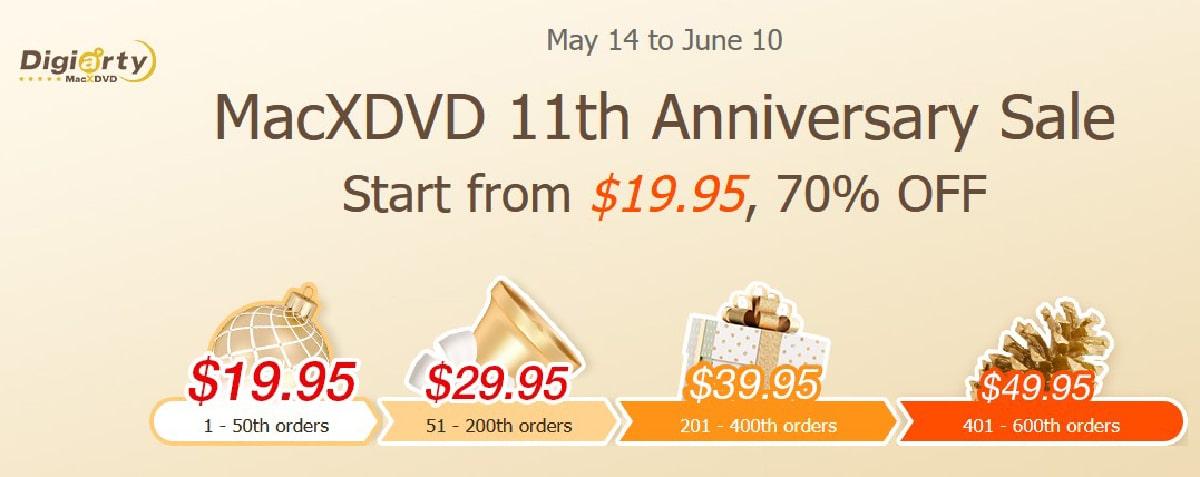 Aniversario MacX DVD