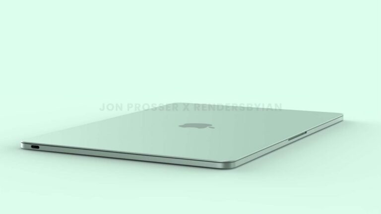 render macBook Air