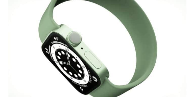 Apple Watch verde