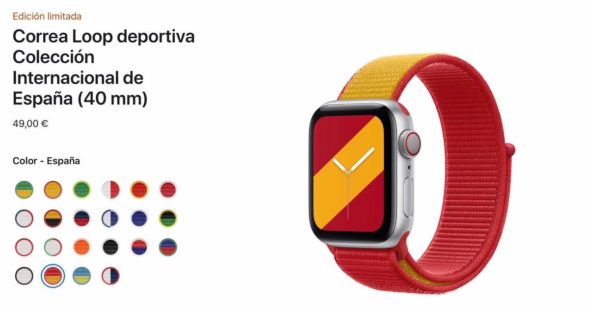 Correa Apple Watch colección internacional