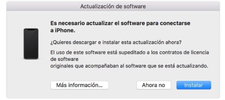 Actualización Mac
