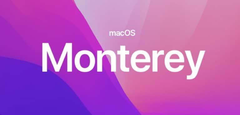 macOS Monterrey