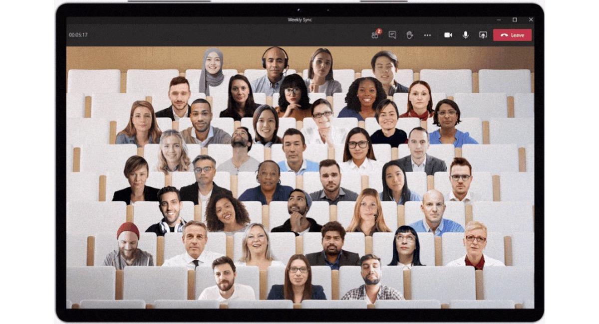 Modo Juntos - Microsoft Teams