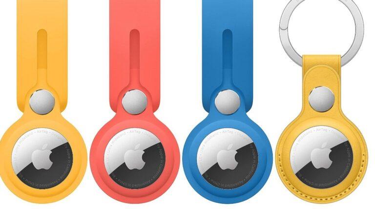 AirTag Leather Loop y AirTag Key Ring