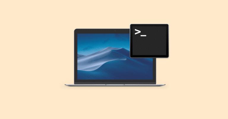 מסוף Mac