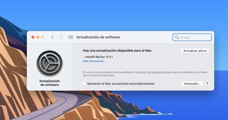 macOS Big Sur 11.5.1