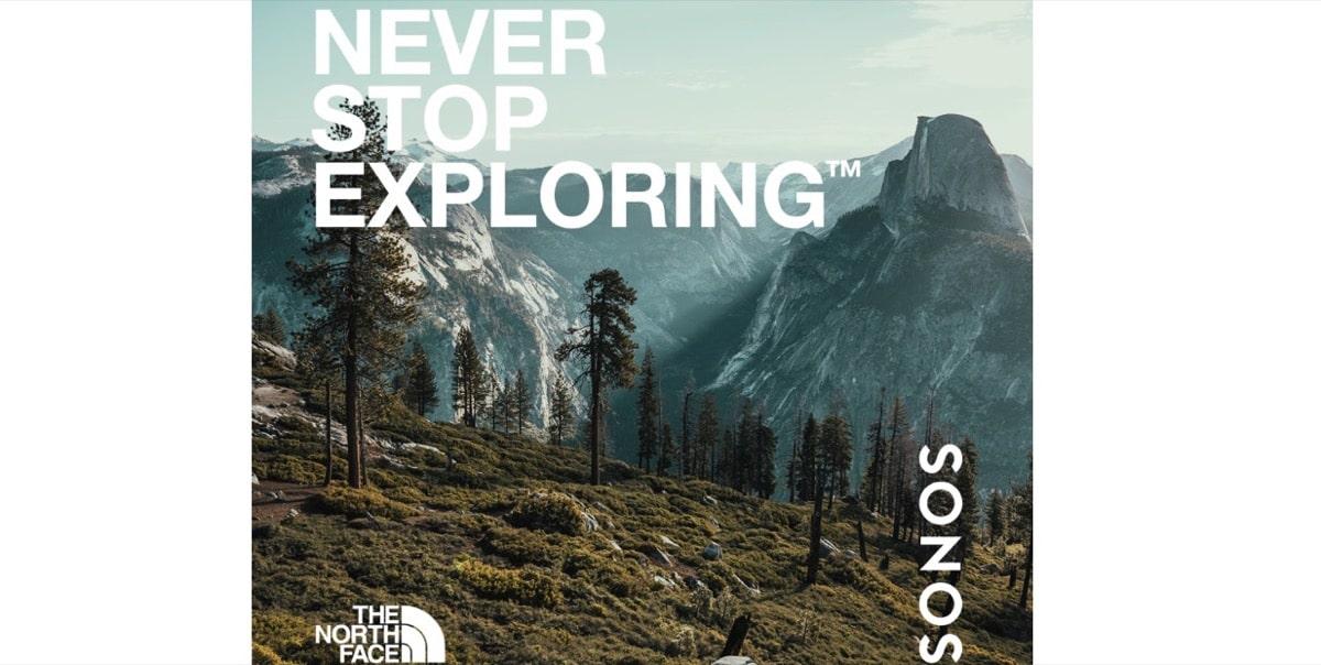 Sonos y the North Face
