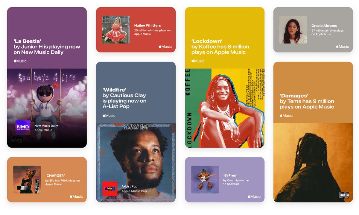Hitos en Apple Music