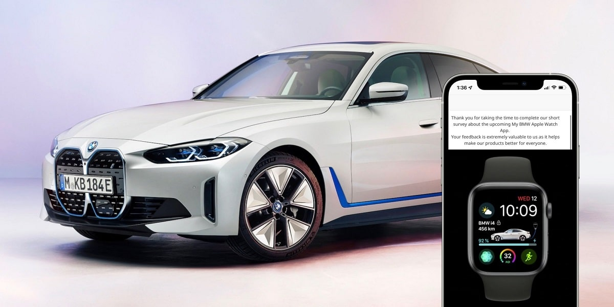 BMW i4 compatible Apple Watch