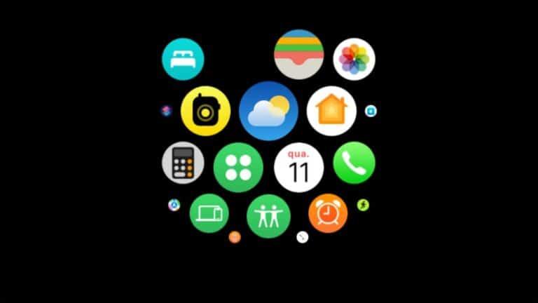 Nuevo icono del tiempo en la beta 5 de watchOS 8