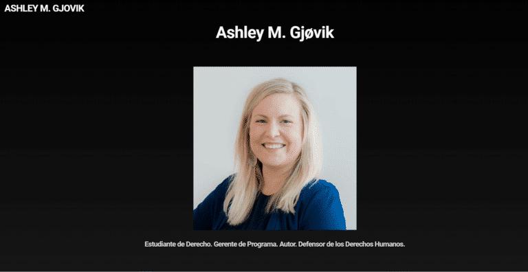 Ashley M. Gjøvik