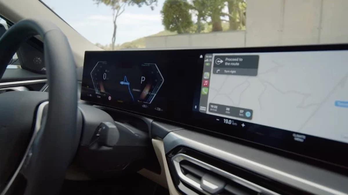 CarPlay en BMW i4