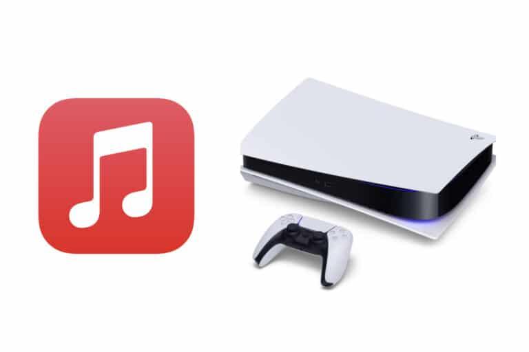 PlayStation 5 y Apple Music