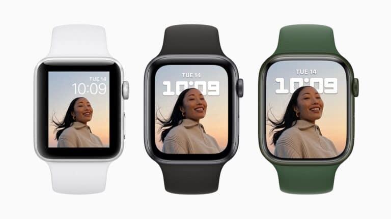 Apple Watch nuevo tamaño