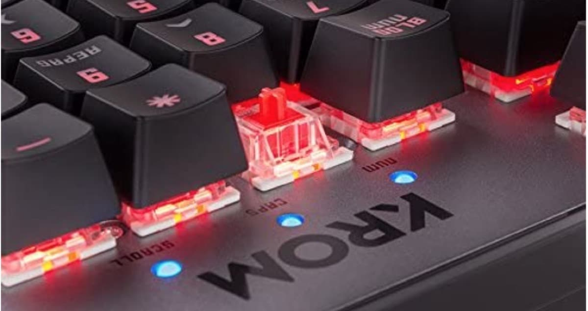 Teclado gamer oferta Ciber Monday